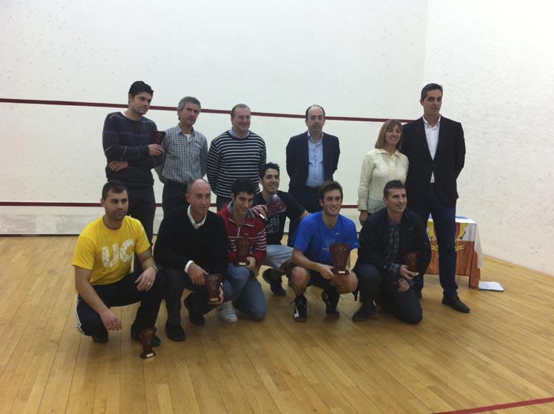 Leandro Romiglio campeón XIII Open Squash Ayuntamiento de Astillero