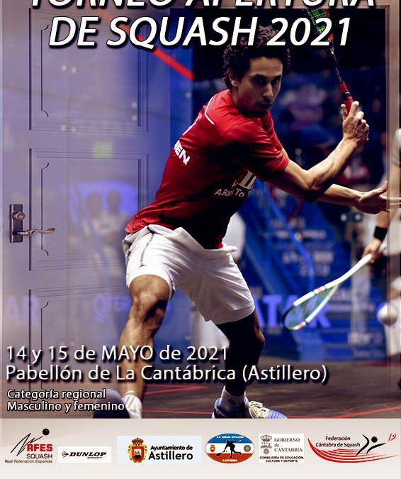 Torneo Apertura Squash 2021