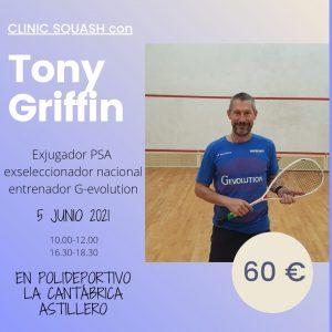 Clinic Toni Grifin 2021
