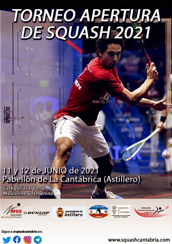 Torneo Apertura Squash junio 2021